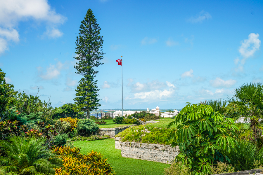 Fort Hamilton Bermuda Sightseeing